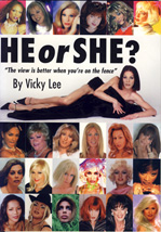 He or She? cover book by Vicky Lee explains EVERYTHING about transgender