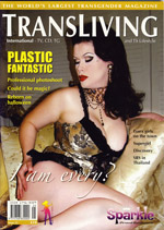 Transliving cover issue 25